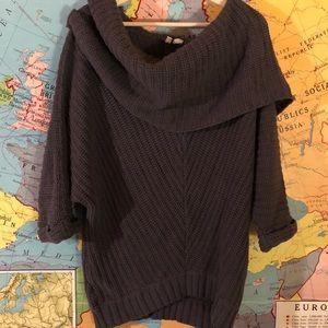 Moth brand cowl neck sweater